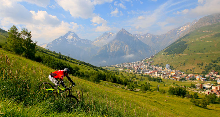 French Alps Mountain Activities - Mountain Biking