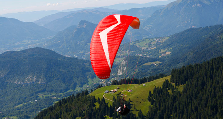 French Alps Mountain Activities - Paragliding