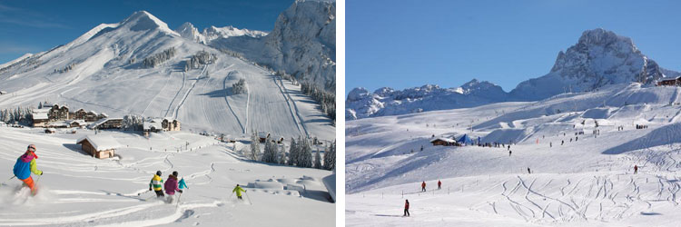 French alps ski resorts - Aravis