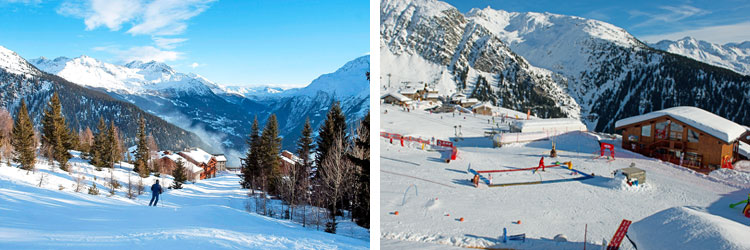 French alps ski resorts - tarentaise